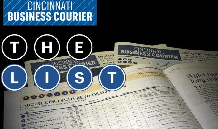 Cincinnati Courier Book of Lists - Sheakley