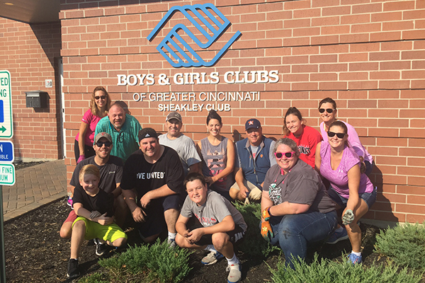 Boys and Girls Club Service Project