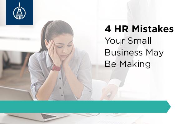 4 HR mistakes