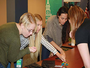 Careers at Sheakley - team building with a treat