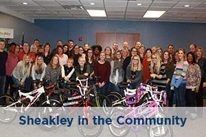 Sheakley in the community